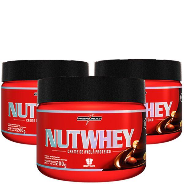 Oferta Pacote com 3x NutWhey Cream 200g