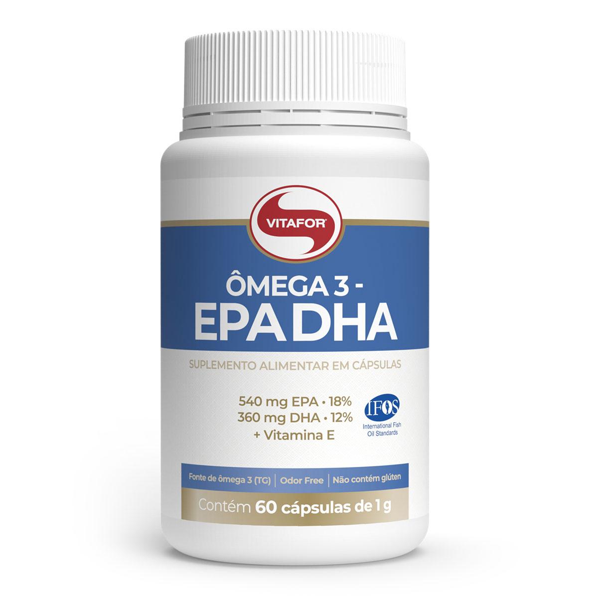 Ômega 3 1000 mg (60 Cápsulas) - Vitafor