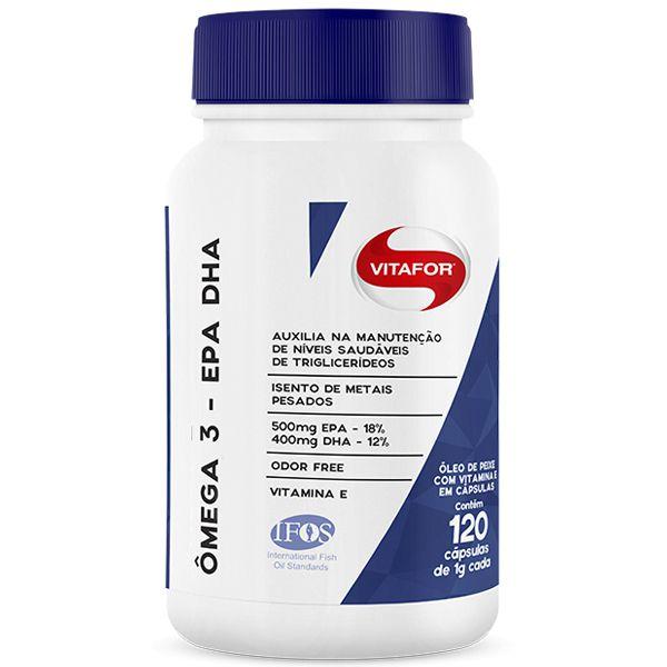 Omega 3 EPA e DPH 120 Cápsulas