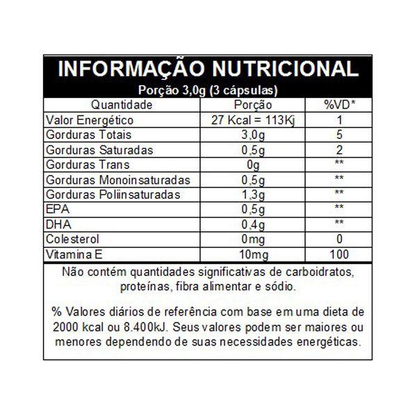 Omega 3 EPA e DPH 60 Cápsulas