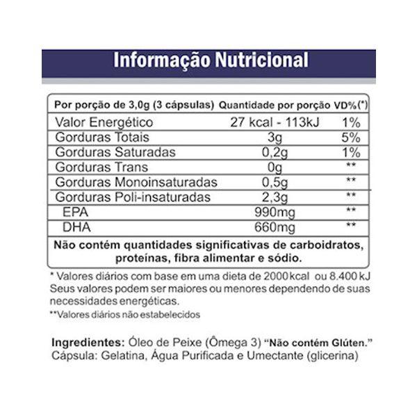 Omegafor Plus Omega 3 - 120 Cápsulas