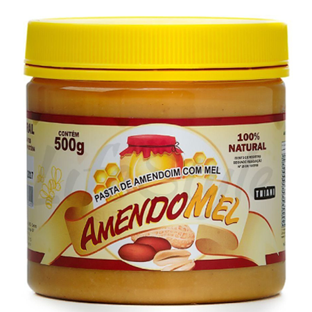 Pasta De Amendoim Crocante Amendomel (500g)