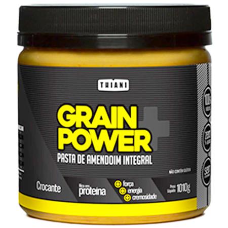 Pasta de Amendoim Integral Crocante Grain Power (1010g)