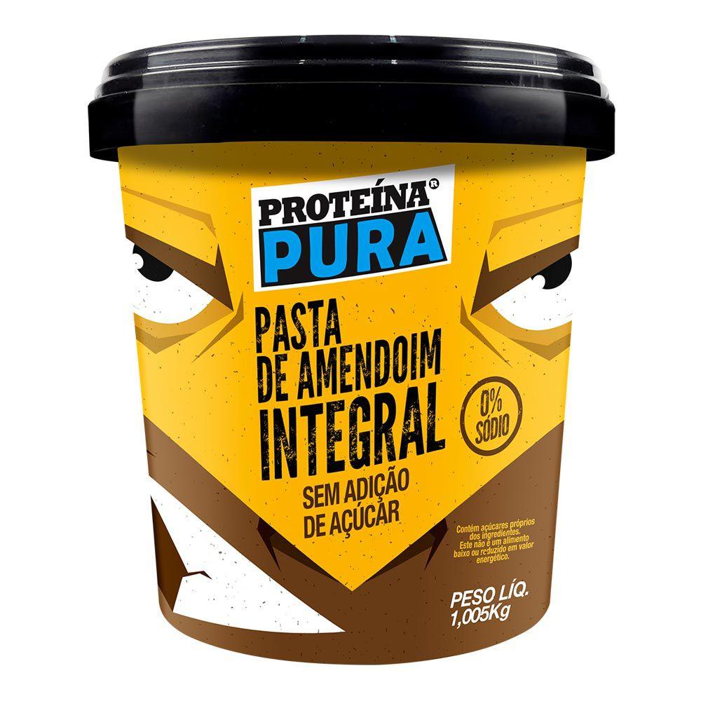 Pasta de Amendoim Proteina Pura 1005g