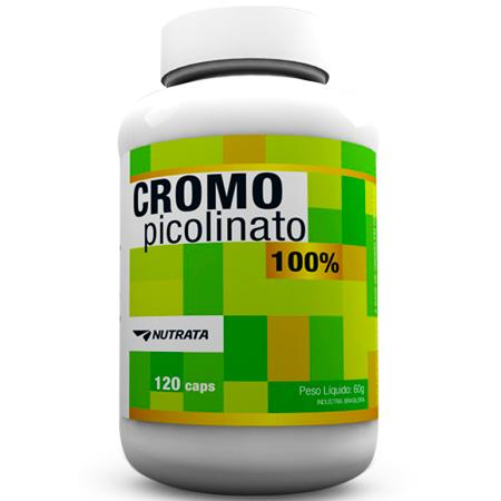 Picolinato de Cromo (120 Cápsulas)