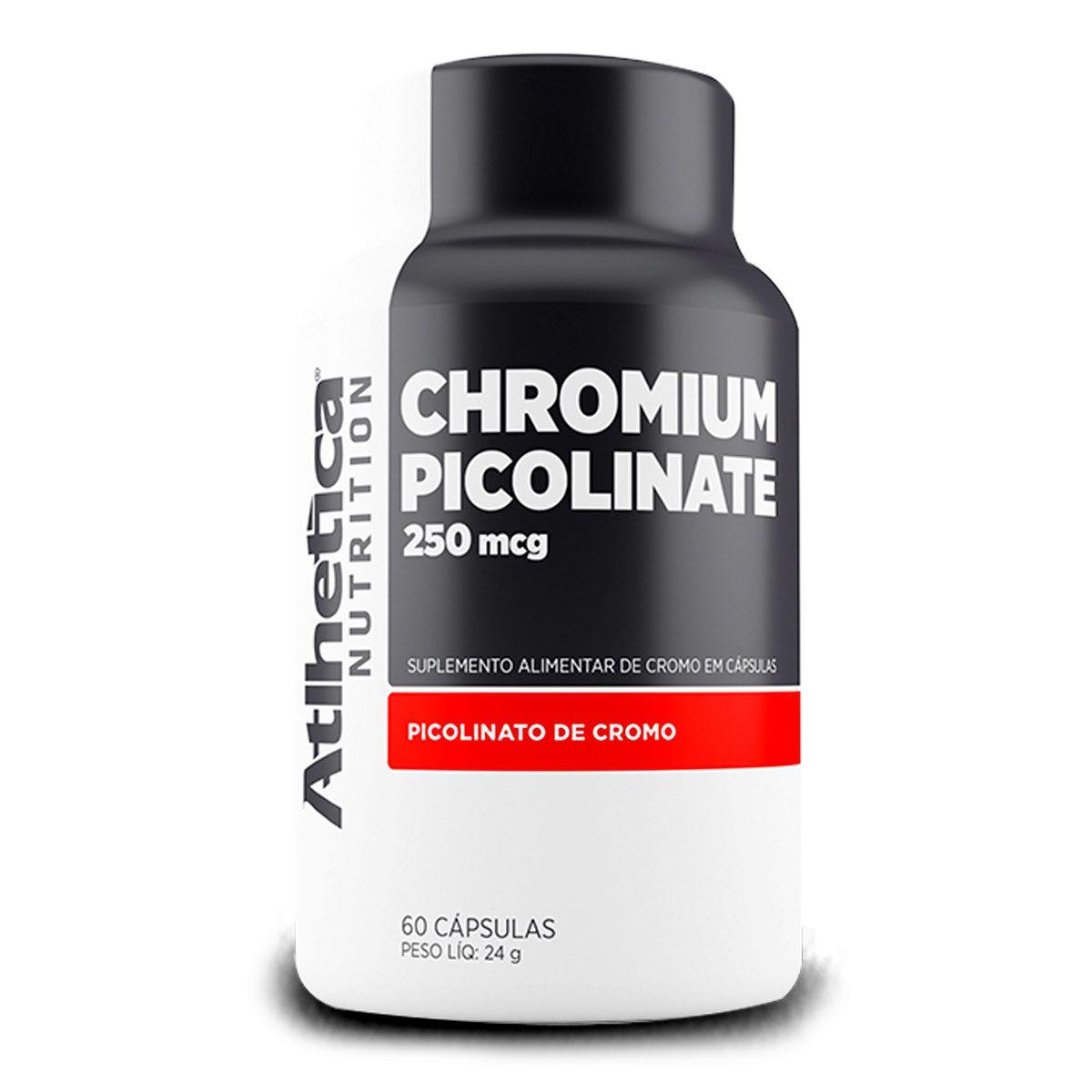 Picolinato de Cromo 250mcg -  60 Capsulas