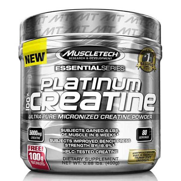 Platinum 100% Creatina Micronizada 400g