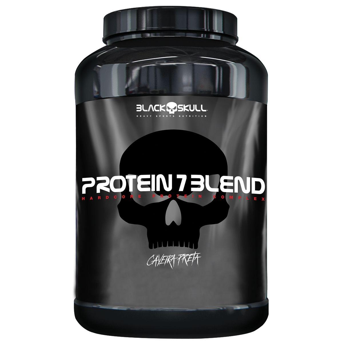 Protein 7 Blend Black Skull 837g