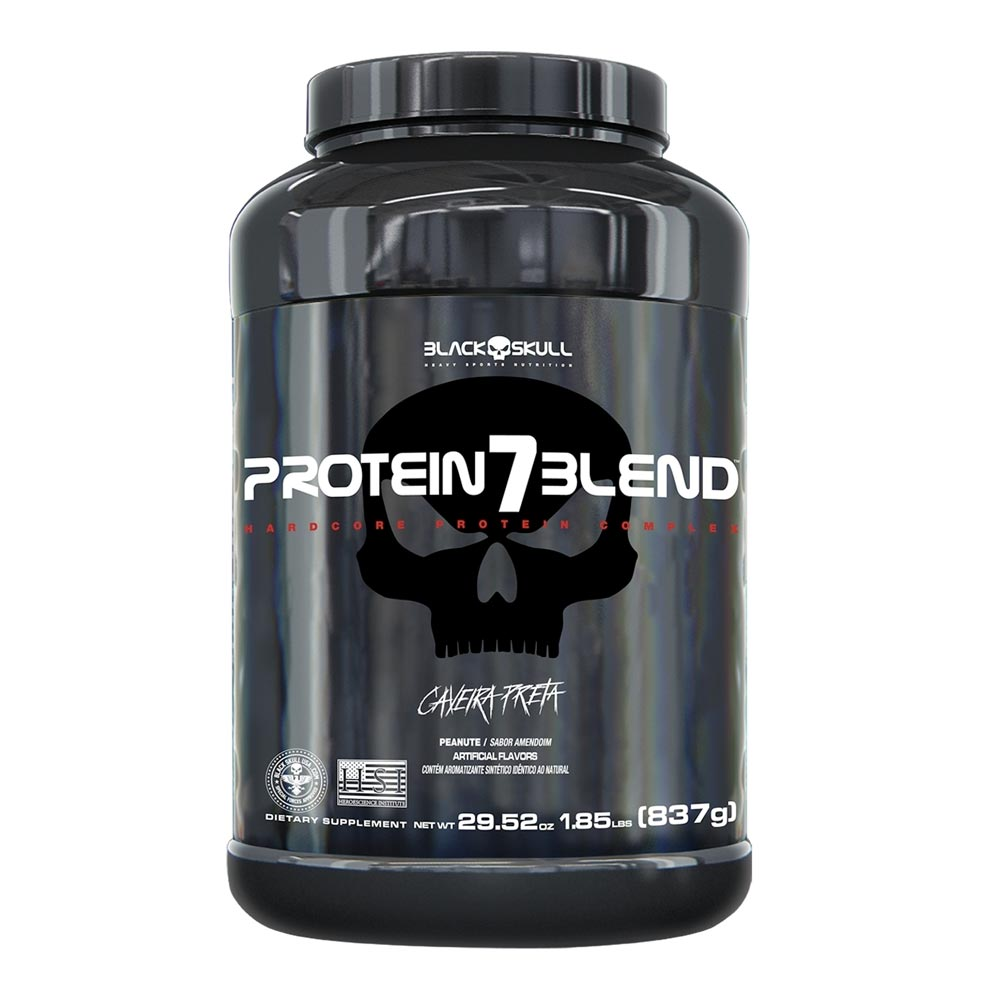 Protein 7 Blend - Black Skull Caveira Preta