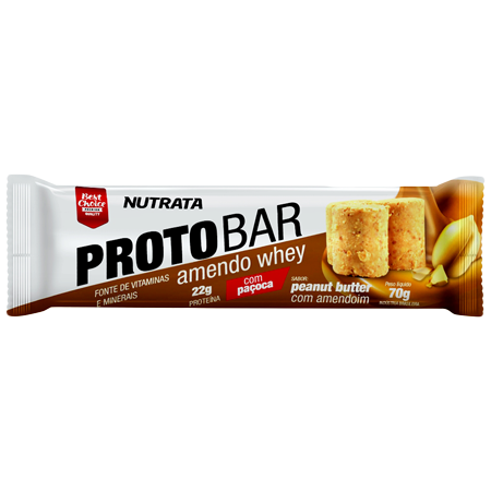 6a4253311 PROTOBAR Barra Proteica 70g - Nutrata em Sorocaba - PROTOBAR Barra ...
