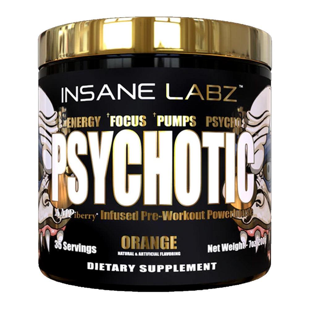 Psychotic Gold Importado (35 doses) - Insane Labz