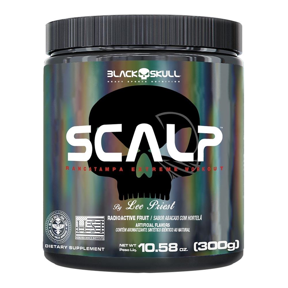 Scalp Black Skull - Pre Treino