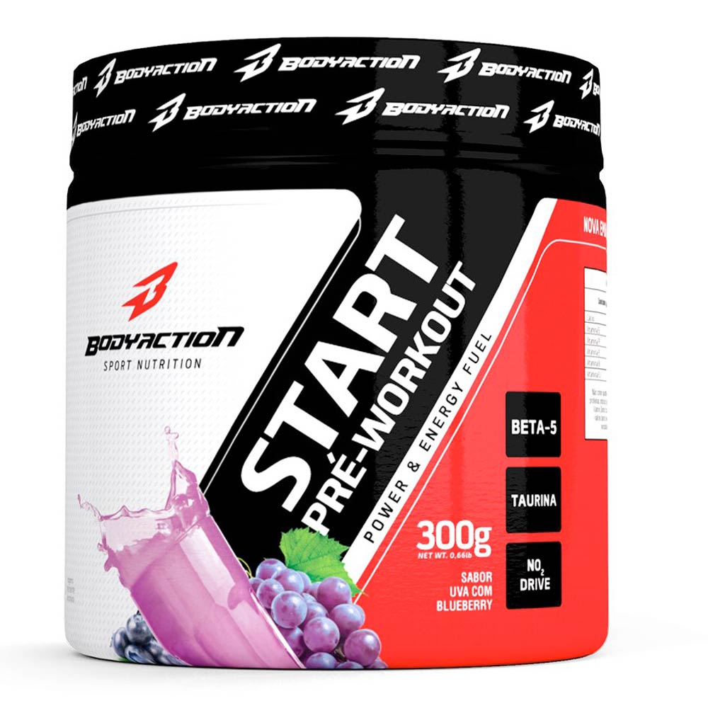 Start Pre-Workout BodyAction (300g)