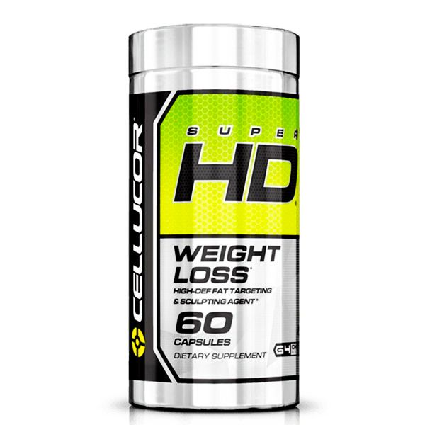 Super HD Cellucor Gen 4 - 60 Cápsulas