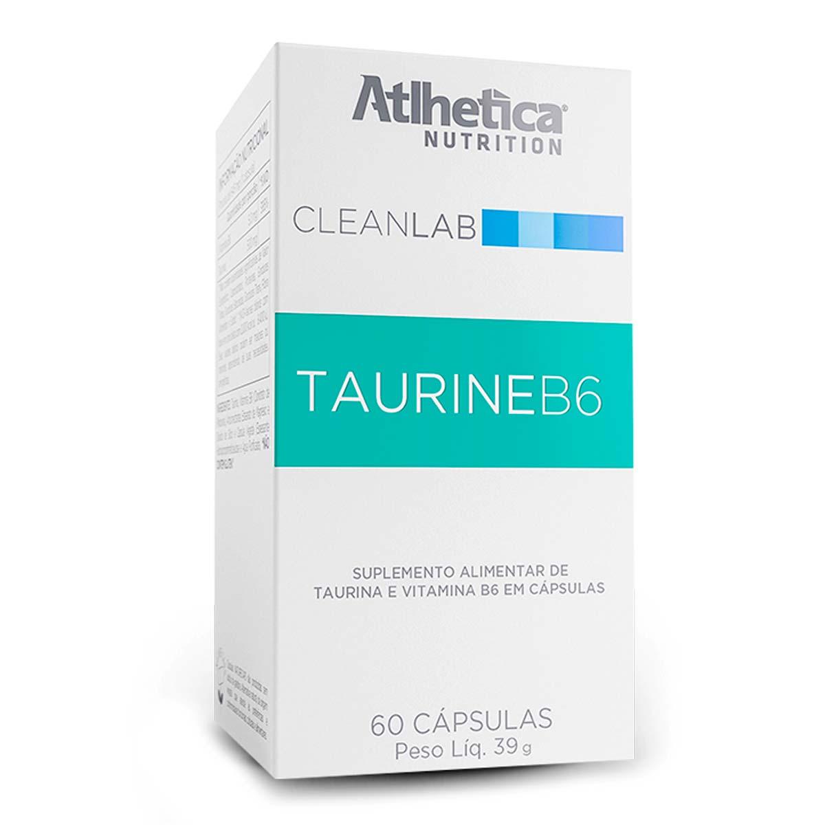 Taurine - 500mg - 60 Cápsulas