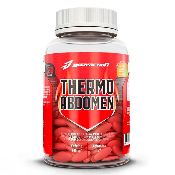 Thermo Abdomen Body Action 120 Capsulas