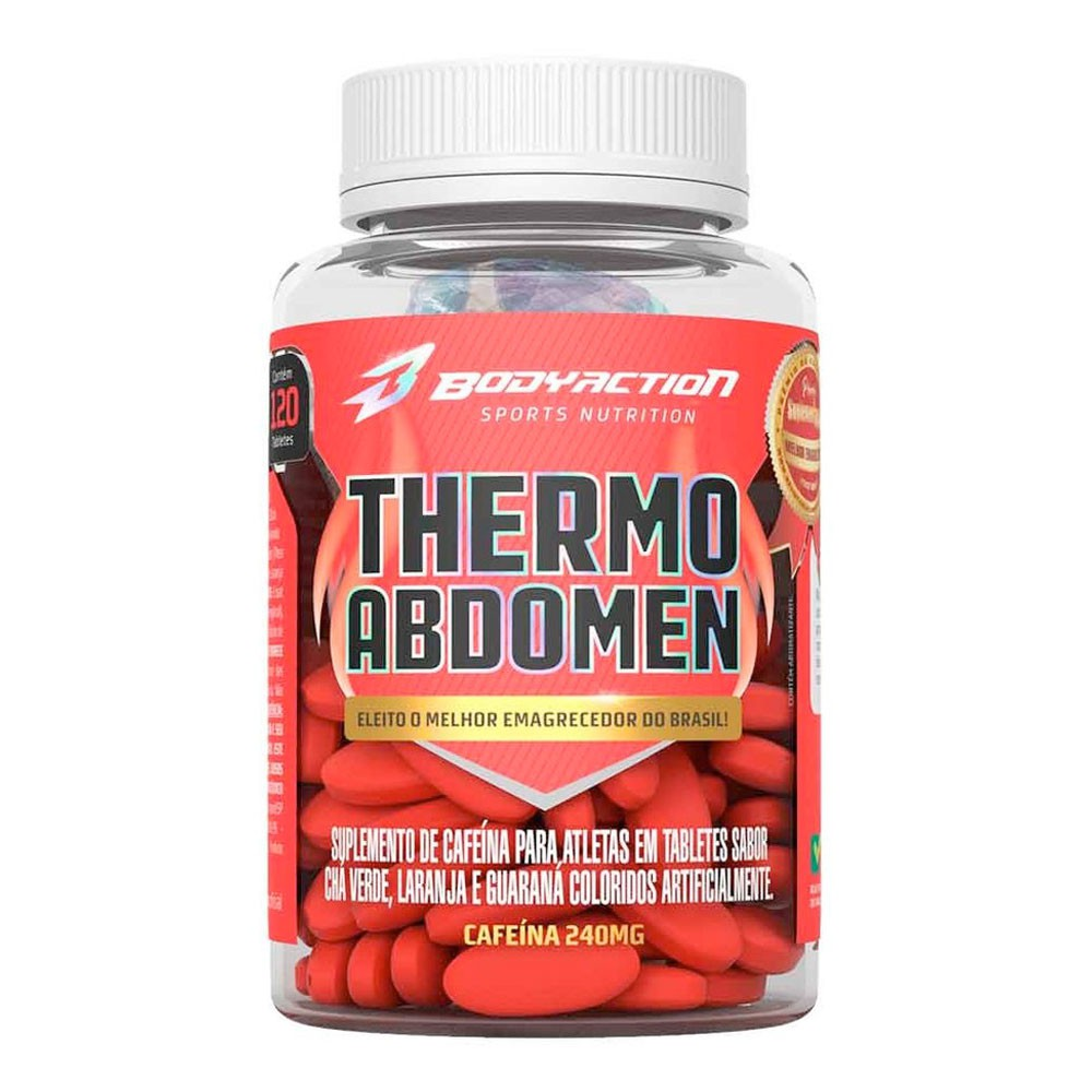 Thermo Abdomen BodyAction (120 Capsulas)