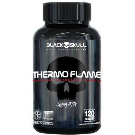 Termogenico Thermo Flame Black Skull 60 Caps