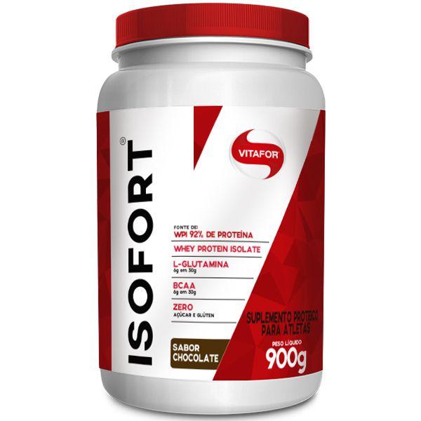 Whey Protein Isolado Isofort Vitafor 900g