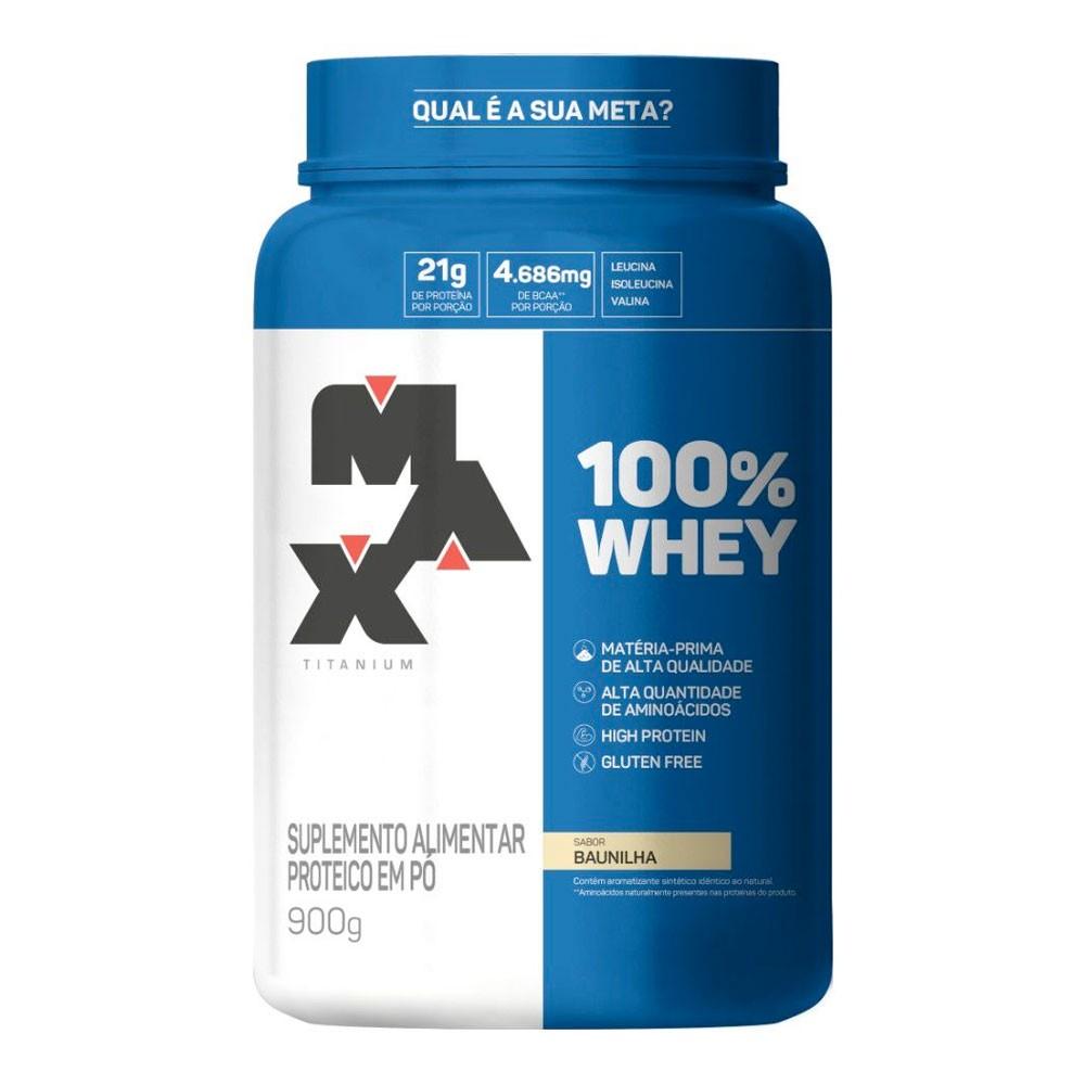 100% Whey Max Titanium (900g)