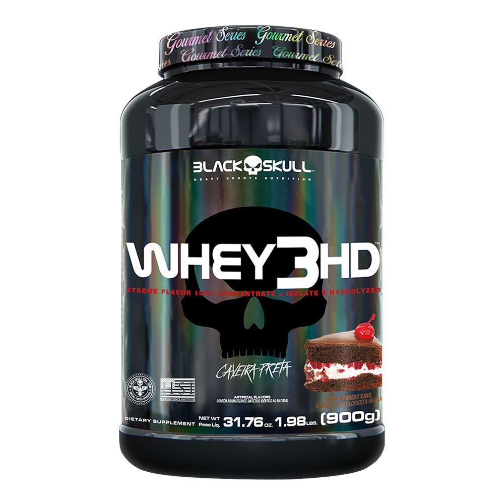 Whey 3hd Gourmet - Black Skull