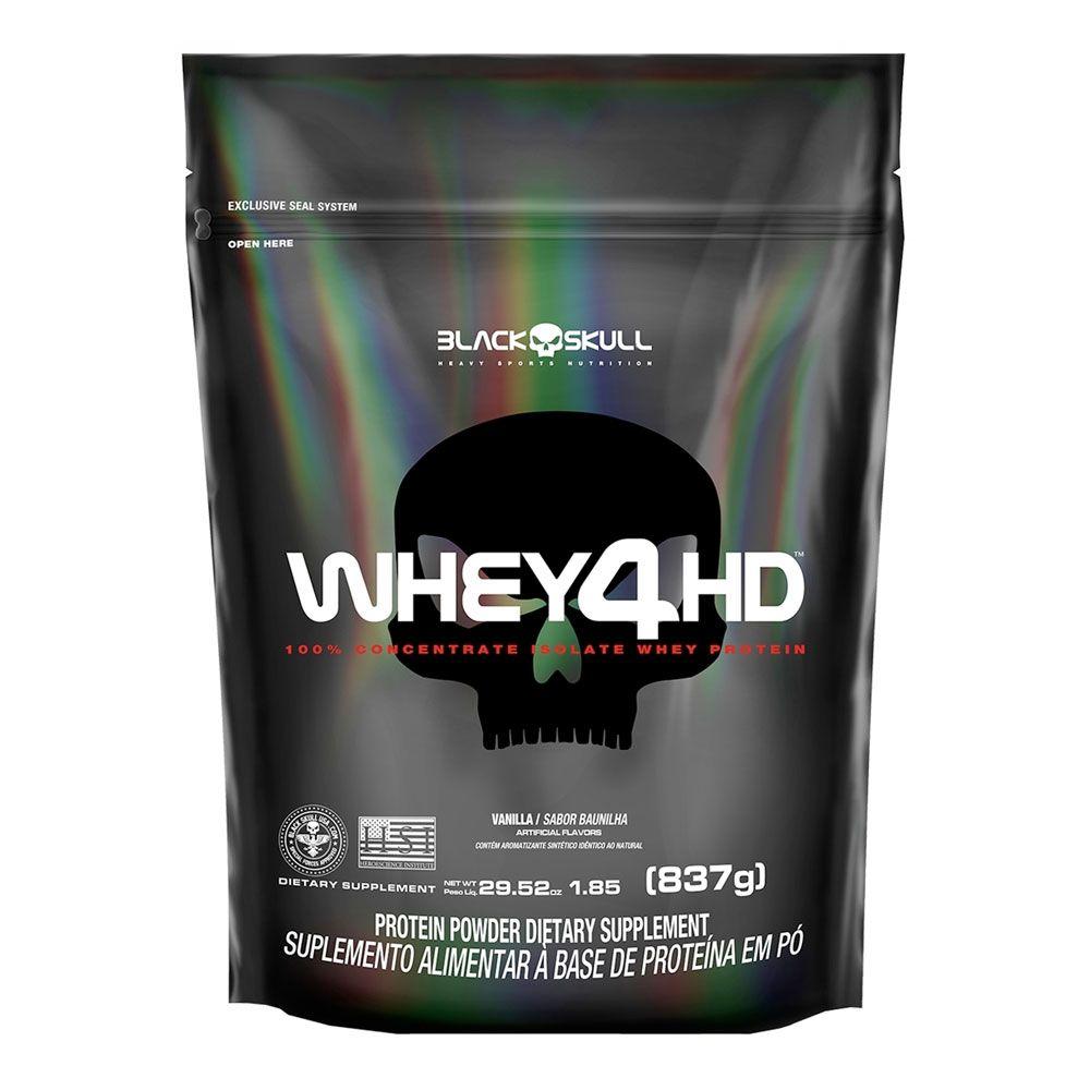 Whey 4HD - Refil 837g