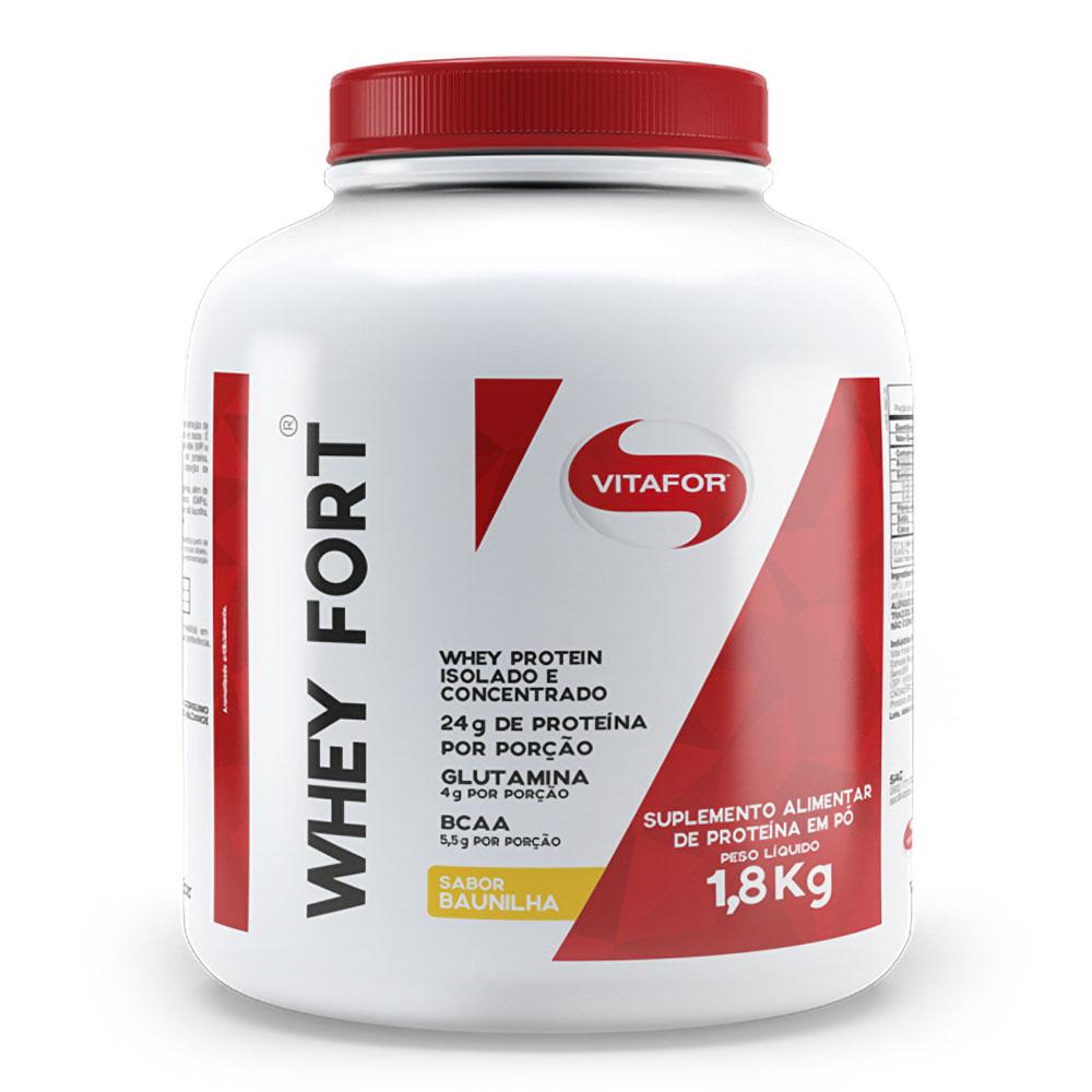 Whey Fort (1,8kg) - Vitafor