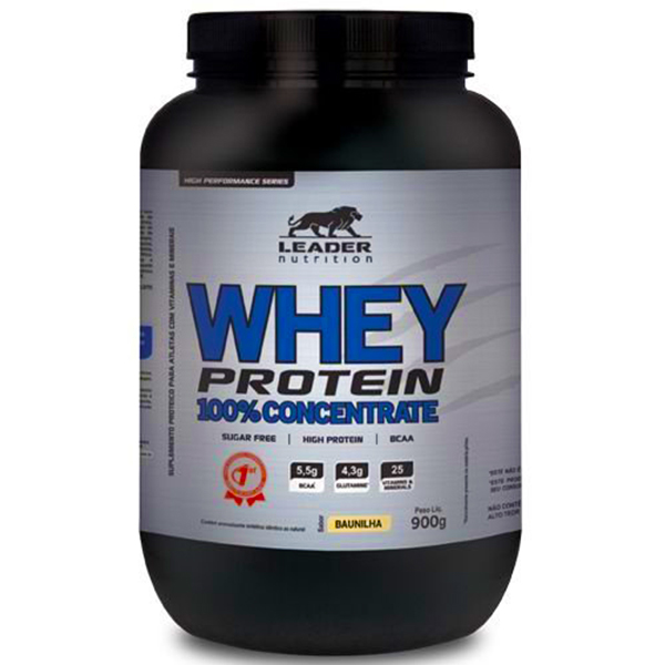 Whey Protein 100% Concentrate 900g
