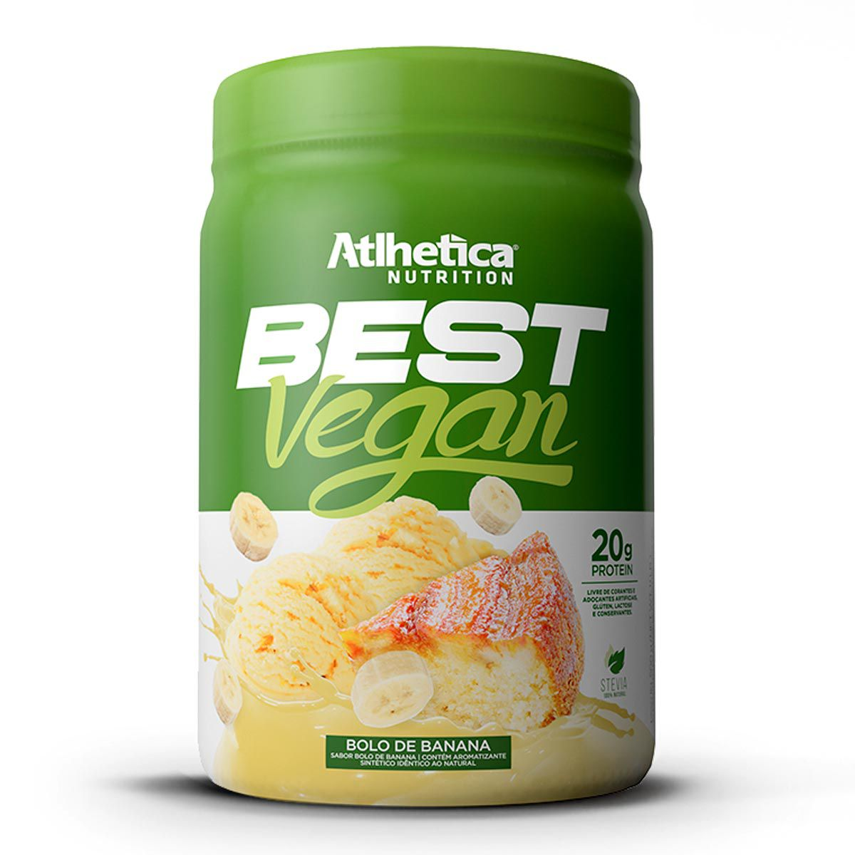 Whey Vegano Best Vegan Atlhetica Nutrition 500g