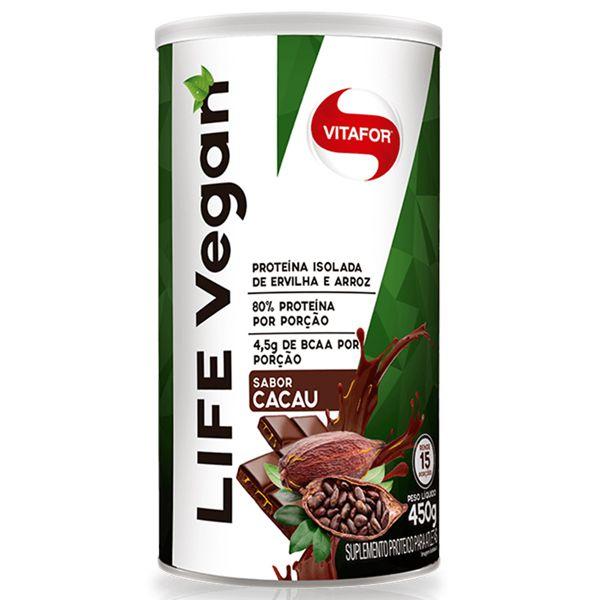 Whey Vegano Vitafor -  Life Vegan (450g)