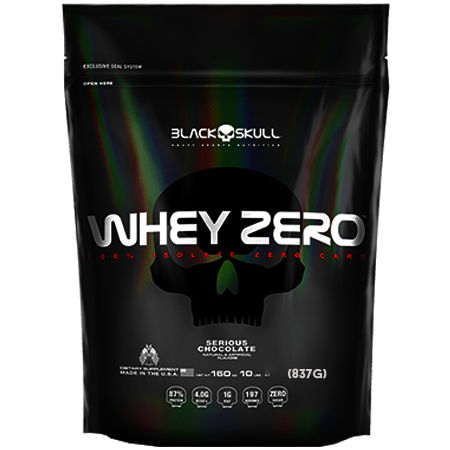 Whey Protein Isolado Whey Zero Black Skull 837g