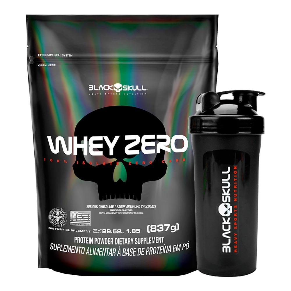 Whey Zero 837g + Coqueteleira