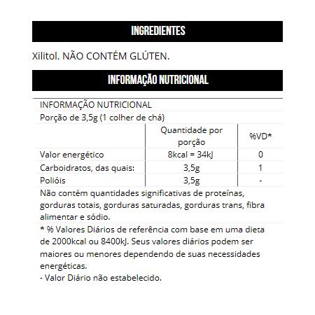 Xylitol Thin Adoçante (300g)