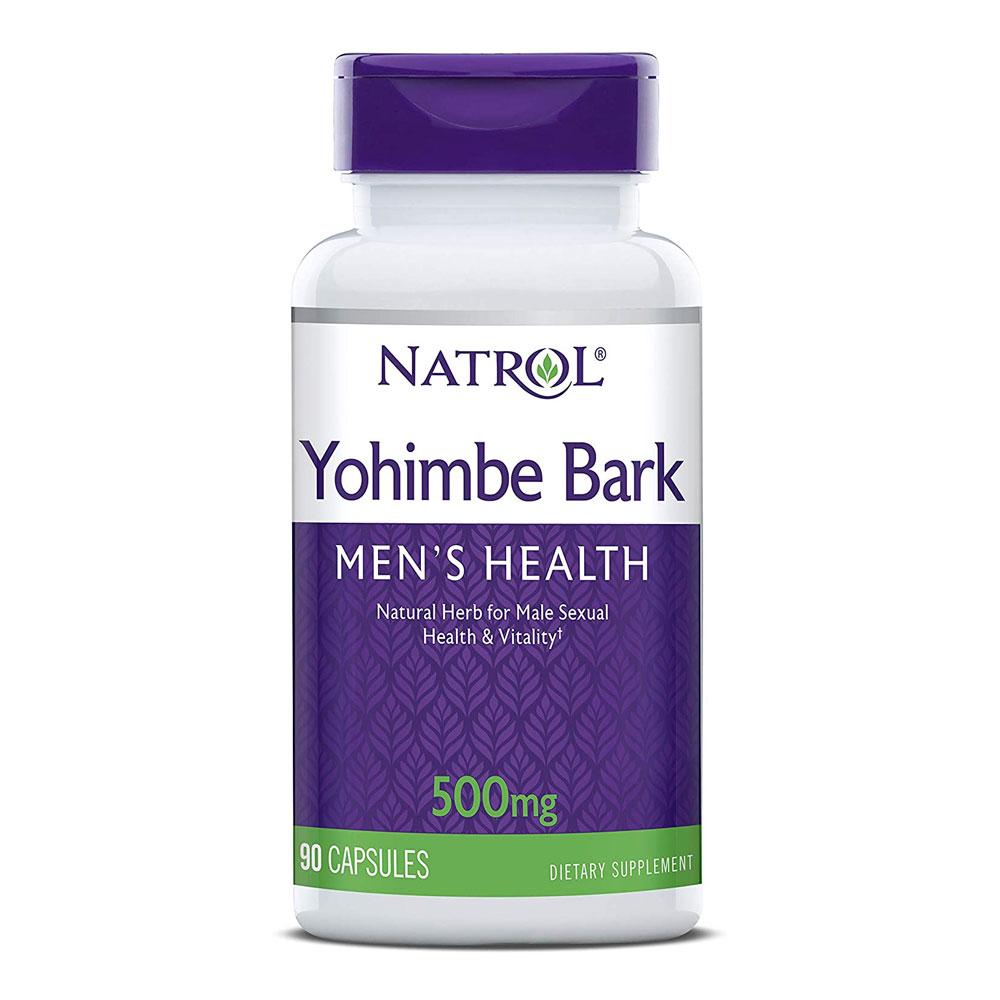 Yohimbe 500mg - Natrol (90 Cápsulas)