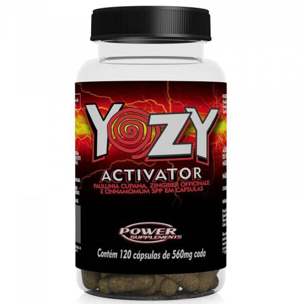 Emagrecedor Termogenico Yozy Activator  120 Caps