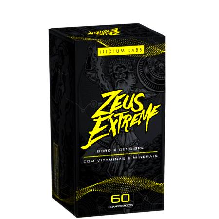 Pré Hormonal Zeus Extreme 60 Comprimidos