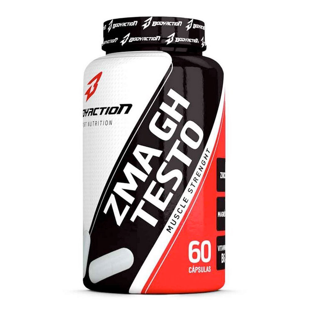 ZMA GH Testo BodyAction (60 Cápsulas)