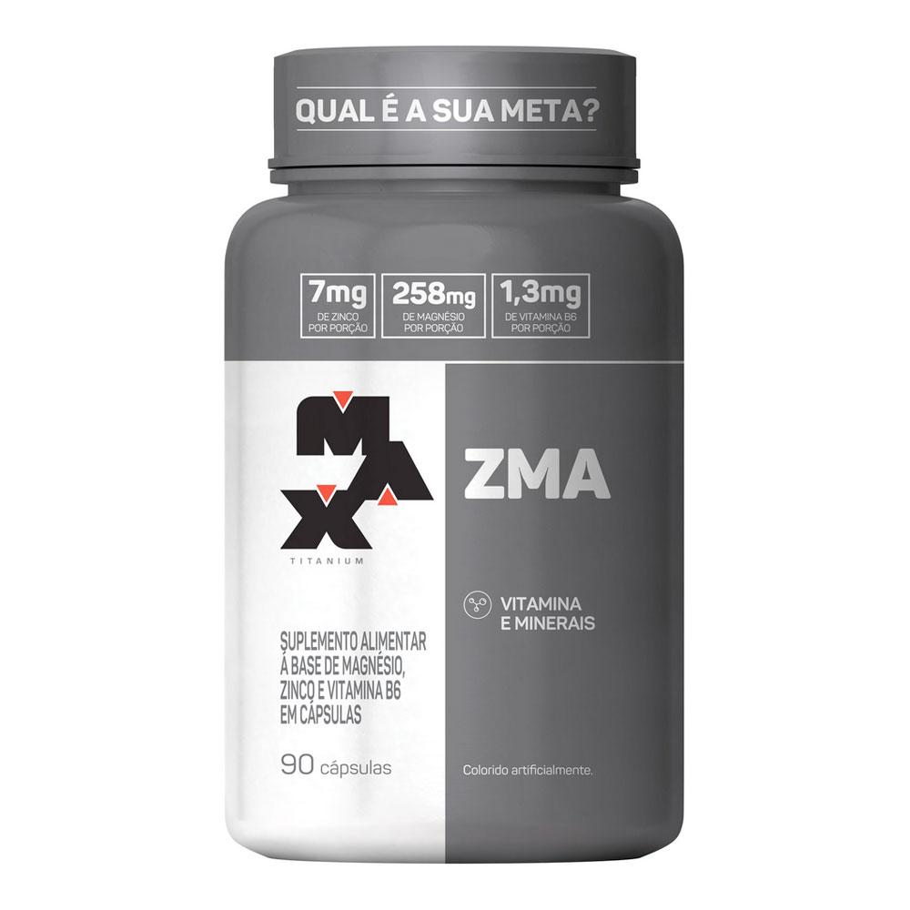 ZMA Max Titanium (90 Cápsulas)