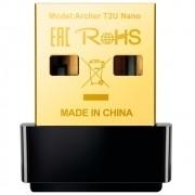 Adaptador Wireless (Wi-Fi) USB Nano TP-Link - AC600 T2U
