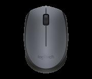 Mouse Logitech Óptico Sem Fio (Wireless 2,4 GHz) m170 Cinza