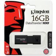 Pen Drive Kingston 16GB DT100G3 USB 3.0