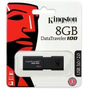 Pen Drive Kingston 8GB DT100G3 USB 3.0