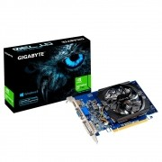 Placa de Vídeo Gigabyte Nvidia Geforce GT 730 2GB GDDR5 64Bits - GV-N730D5-2GI Rev2.0