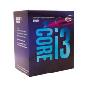 Processador Intel Core i3-8100 Coffee Lake 8ª Geração LGA 1151 3.6GHz, Cache 6MB, Intel UHD Graphics 630 - BX80684I38100