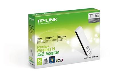 Adaptador Wireless (Wi-Fi) USB TP-Link 300 Mbps - TL-WN821N