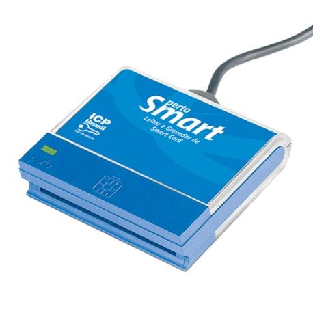 Leitor de Cartão Inteligente (Smart Card) Perto - PertoSmart PS-1000 CCID USB