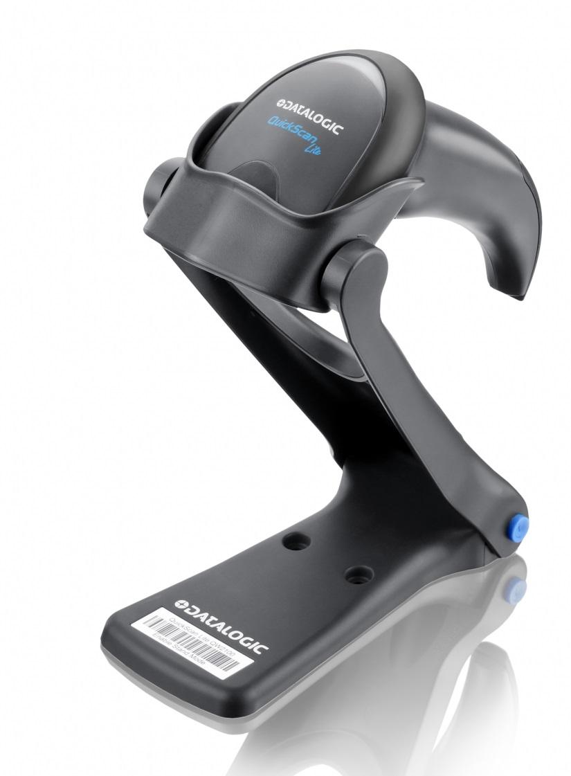 Leitor de Código de Barras Elgin QuickScan Lite QW2120 com Pedestal USB Preto