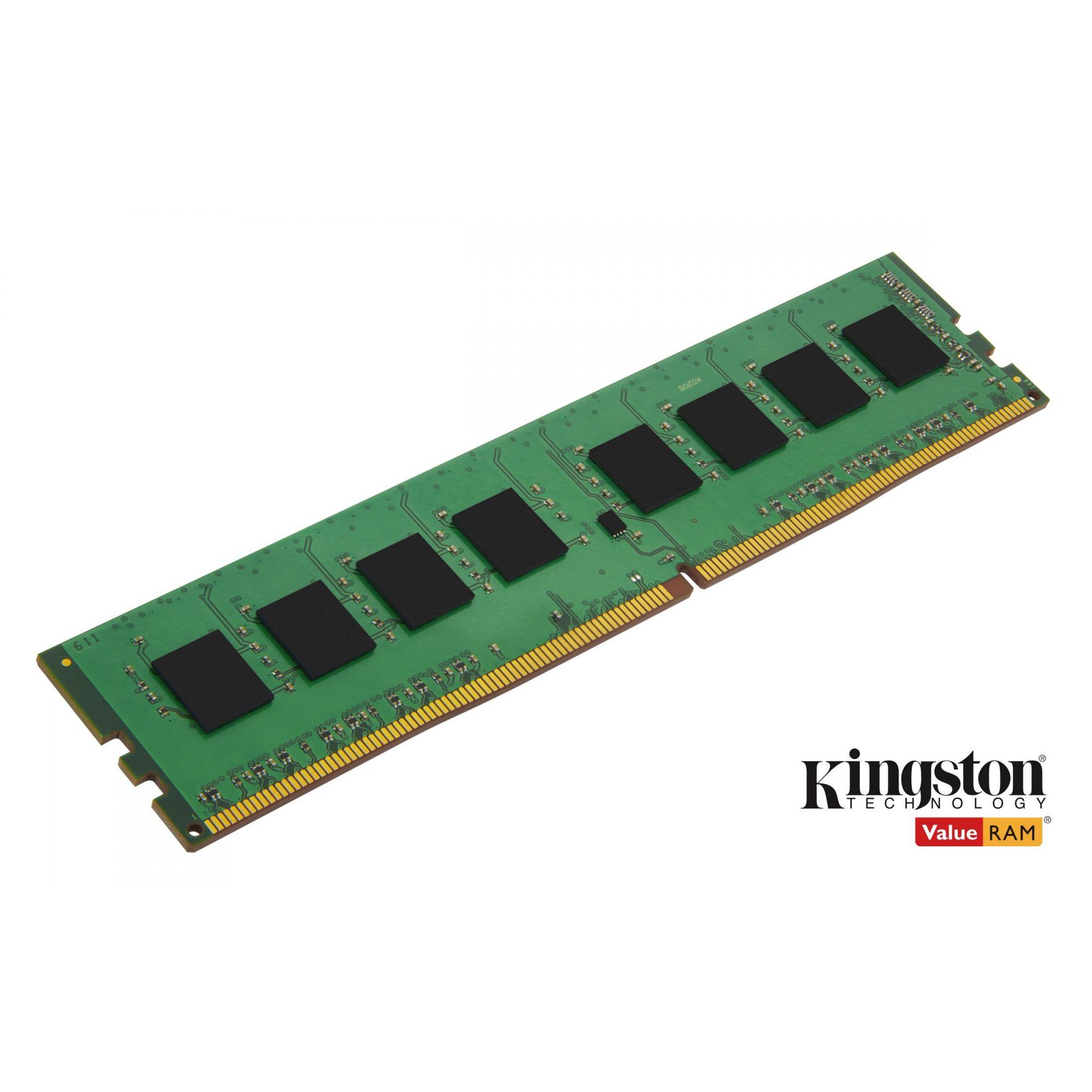 Memória Ram Proprietária Kingston 4GB 2400Mhz 1.2v DDR4 - KCP424NS6/4