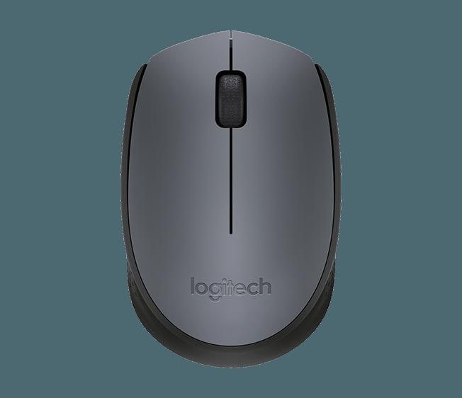 Mouse Logitech Óptico Sem Fio (Wireless 2,4 GHz) m170