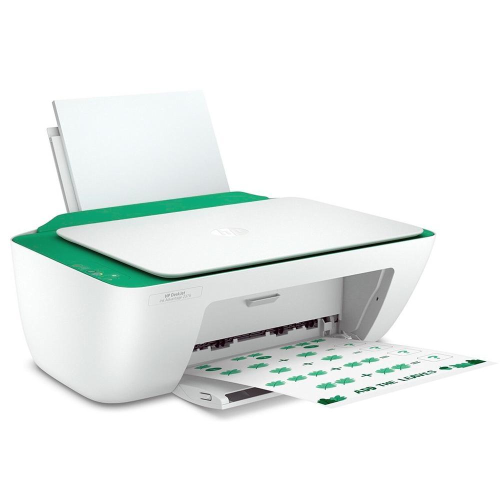 Multifuncional HP Deskjet Ink Advantage 2376 - Jato de Tinta - Colorida - Bivolt - 7WQ02A